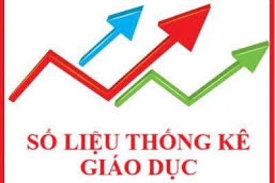 Thống kê Chất lượng Giáo dục năm học 2019-2020 trường THCS Vĩnh Bình Nam 1
