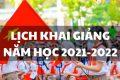 Trường TH&THCS Vĩnh Bình Nam 1 thông báo đến cha mẹ học sinh và học sinh ngày tựu trường, ngày thực học và ngày khai giảng năm học 2021- 2022
